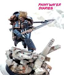 leman russ space wolf primarch paint water diaries