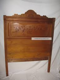 Antique Walnut Bedroom Furniture 1870 Eastlake Walnut Bed Antique American Furniture