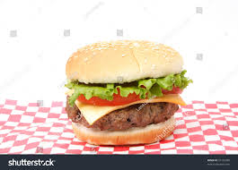 cheeseburger wrapping paper hamburger on wrapping paper stock photo 10162000
