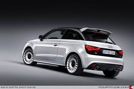 sporty audi the of the compact class the audi a1 quattro