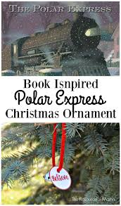 polar express ornament polar express book free printable and