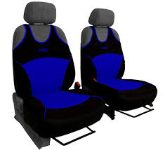 housse de siege duster 2 blue front car seat covers sport for dacia duster ebay