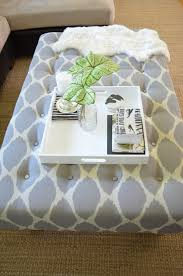 How To Make An Ottoman Out Of A Coffee Table Diy Upholstered Ottoman Coffee Tablediy Show Diy