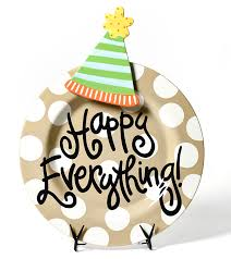 happy everything platter happy everything clipart