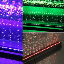 submersible led aquarium lights sale 5050 rgb air bubble l led aquarium fish tank light eu plug