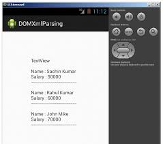 tutorial android xml android xml parsing using dom parser javatpoint