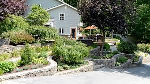 Landscape Ideas For Sloping Backyard 6 Landscaping Ideas For Sloping Yards Landworx Of Ny Landscape