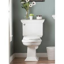 Kohler Comfort Height Round Toilet Kohler Highline White Watersense Labeled Elongated Chair Height