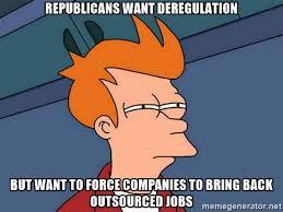 Political Meme Generator - deregulation politics political memes