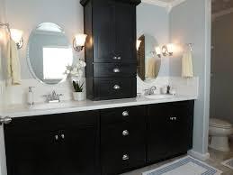 Round Bathroom Mirror With Shelf by Black Round Mirror With Shelf Vanity Decoration