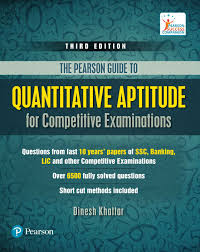 quantitative aptitude for competitive examinations 3 edition buy