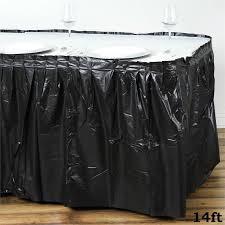 wedding linens for sale plastic table skirt 14 x 29 wedding linens dinner party