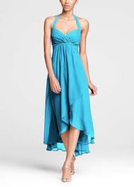 malibu bridesmaid dresses gorgeous designer turquoise halter chiffon a line bridesmaid