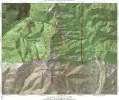 Utah Topo Maps by Mill Canyon Peak Loop