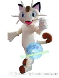 Halloween Sheep Costume Poke Mascot Costume Lovely Cat Meowth Mascot Costume Halloween