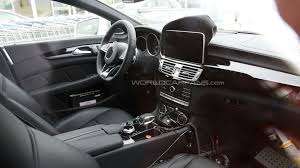 mercedes cls 63 amg facelifted mercedes cls 63 amg shooting brake spied inside out