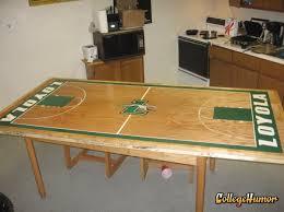 Table Basketball A Gnome Basketball Court Collegehumor Post