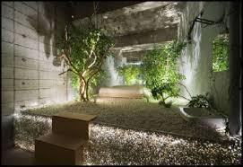 indoor zen garden restaurant story on with hd resolution 1024x768