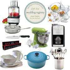 must register for wedding wedding registry gift ideas