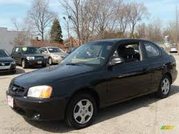 hyundai accent 2001 for sale 2001 black hyundai accent l coupe 27850542 gtcarlot com