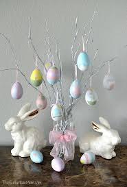 easter ornament tree how to make easter egg tree decoration the suburban