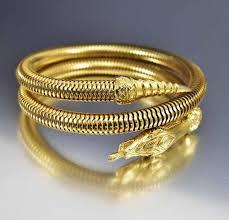 gold omega bracelet images Vintage omega coil wrap snake bracelet arm cuff boylerpf jpg