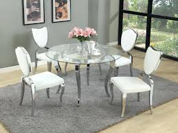 glass top dining table set 6 chairs glass top dining table set uk and 6 chairs oak everythingbeauty info