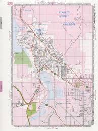 City Map Of Oregon by Klamath Falls Road Map