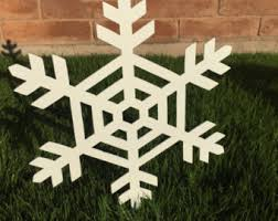 Christmas Decorations Outdoor Snowflakes by Snowflake Garden Stakes Set Of 3 Christmas Decoration