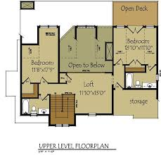 cottage floor plans pictures open floor plan cottage beutiful home inspiration