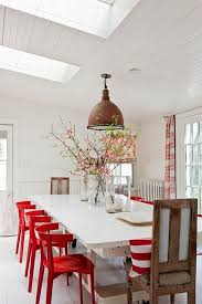 Best  Red Chairs Ideas On Pinterest Red Kitchen Tables - Red kitchen table and chairs