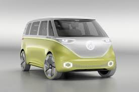 green volkswagen van volkswagen microbus based on i d buzz concept gets green light