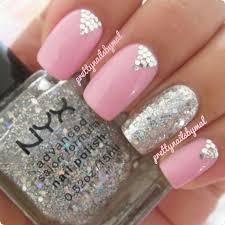 391 best glitter nail designs images on pinterest glitter nail