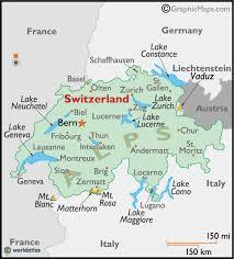 map of montreux switzerland map and switzerland satellite image