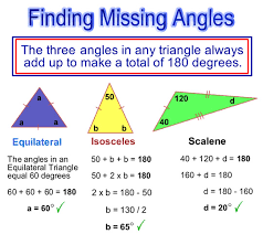 angle sum of a triangle worksheet worksheets