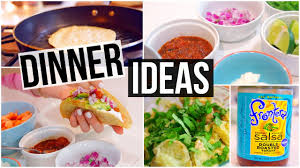 Any Ideas For Dinner 3 Simple U0026 Healthy Dinner Ideas Youtube