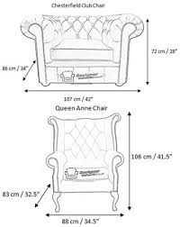 Standard Sofa Size by Chesterfield Dimensions 1 Interior Design Pinterest