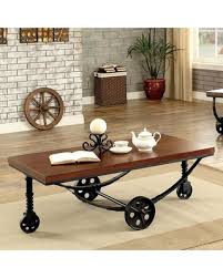 coffee table with caster wheels find the best savings on reese collection cm4331c 48 coffee table