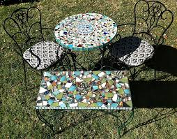 how to make a mosaic table top 18 brilliant diy mosaic ideas for garden mosaic craft balcony