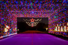 old settlers park christmas lights rock n lights christmas towne run through dec 26 city of round rock