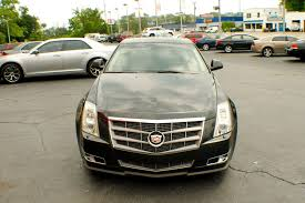 2009 cadillac cts4 black used sedan sale