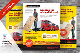 fliers templates moving company flyer templates flyer templates creative market