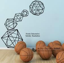 Home Decor Au Online Shop D526 Abstract Geometry Patten Wall Art Sticker Removed