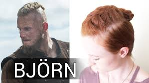 how long should hair be for undercut silvousplaits hairstyling viking hair bun tutorial for bjorn