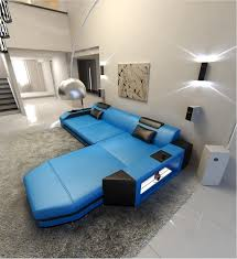 L Shape Sofa Size Modern L Shaped Sofa Dallas With Led Lights