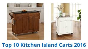 10 best kitchen island carts 2016 youtube