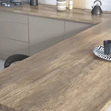 plan de travail stratifié cuisine plan de travail stratifié imitation bois cuisine naturelle within
