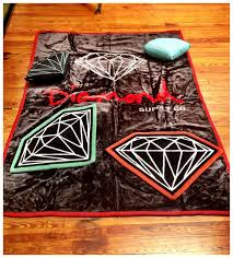 diamond supply co relief skate supply new diamond supply co blankets rugs and