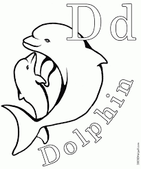 dolphin coloring pages print 47951