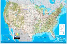 East Coast Map America by Us Midwest 2008